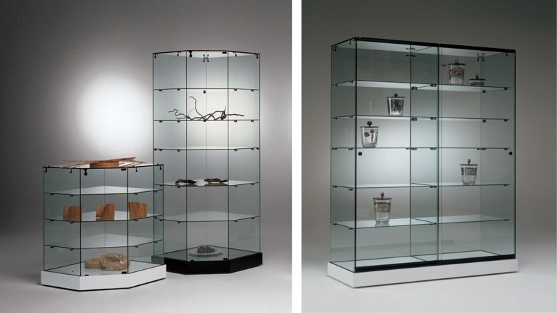 Base Nova Series Display Cabinets & Cases